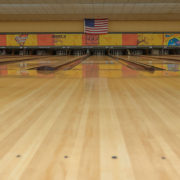 Typical Bowling Lane in Princess Lanes