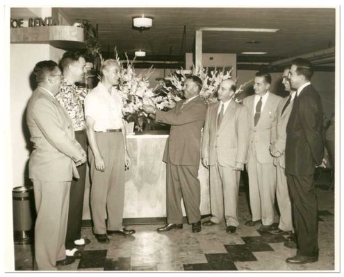 Princess Lanes Grand Opening in 1964