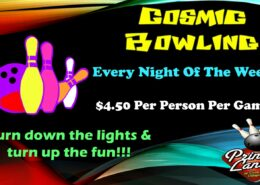 Cosmic Bowling at Princess Lanes