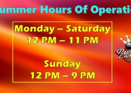 Summer Hours at Princess Lanes